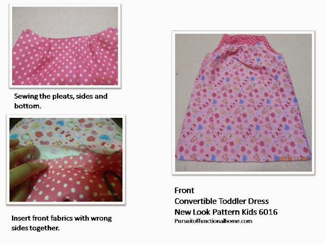 New Look 6016 Kids Convertible Dress
