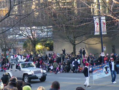 Santa Claus Parade, Vancouver, 2011, happy feet two