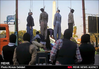 Darkness at Noon: Public Hanging in Iran