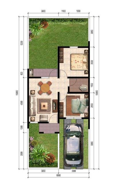 tfq architects kumpulan denah rumah minimalis berbagai type