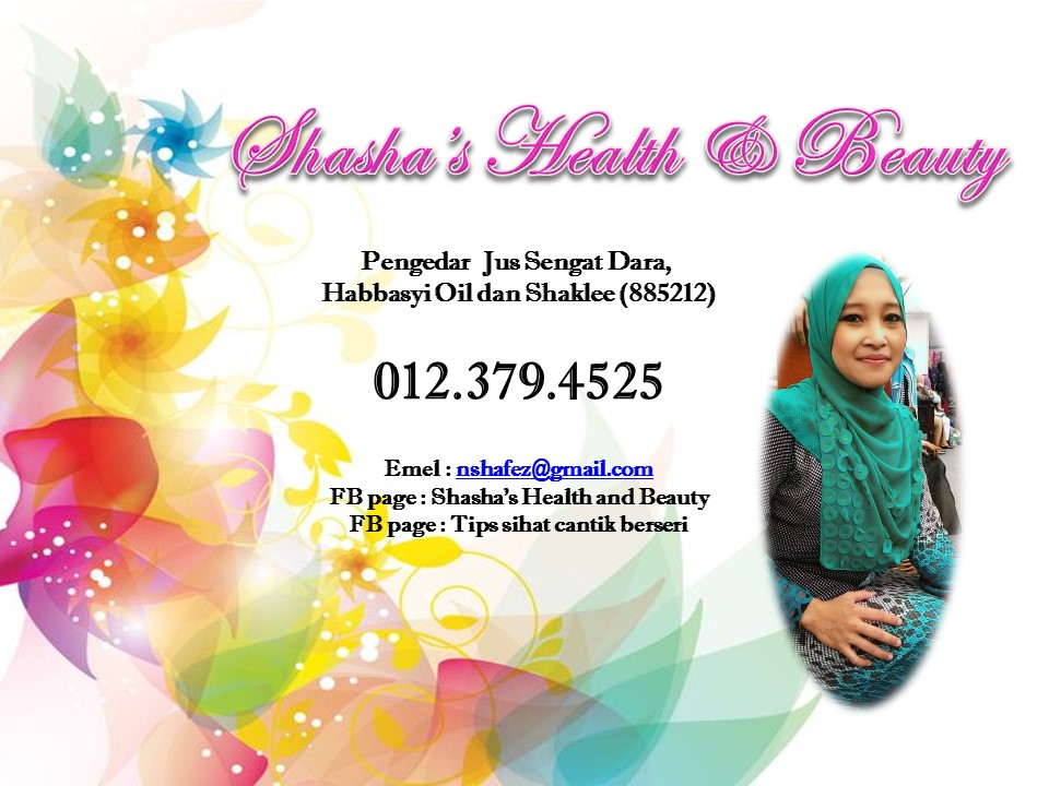Shasha's health and beauty