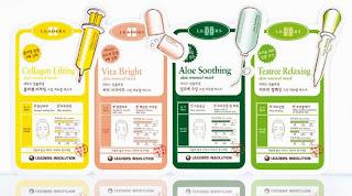 >> 最熱韓牌蕃茄藍莓橙面膜*醫學護膚Leaders Clinic超級蔬果養顏導入面膜系列 Leaders Insolution Coconut Bio Masks