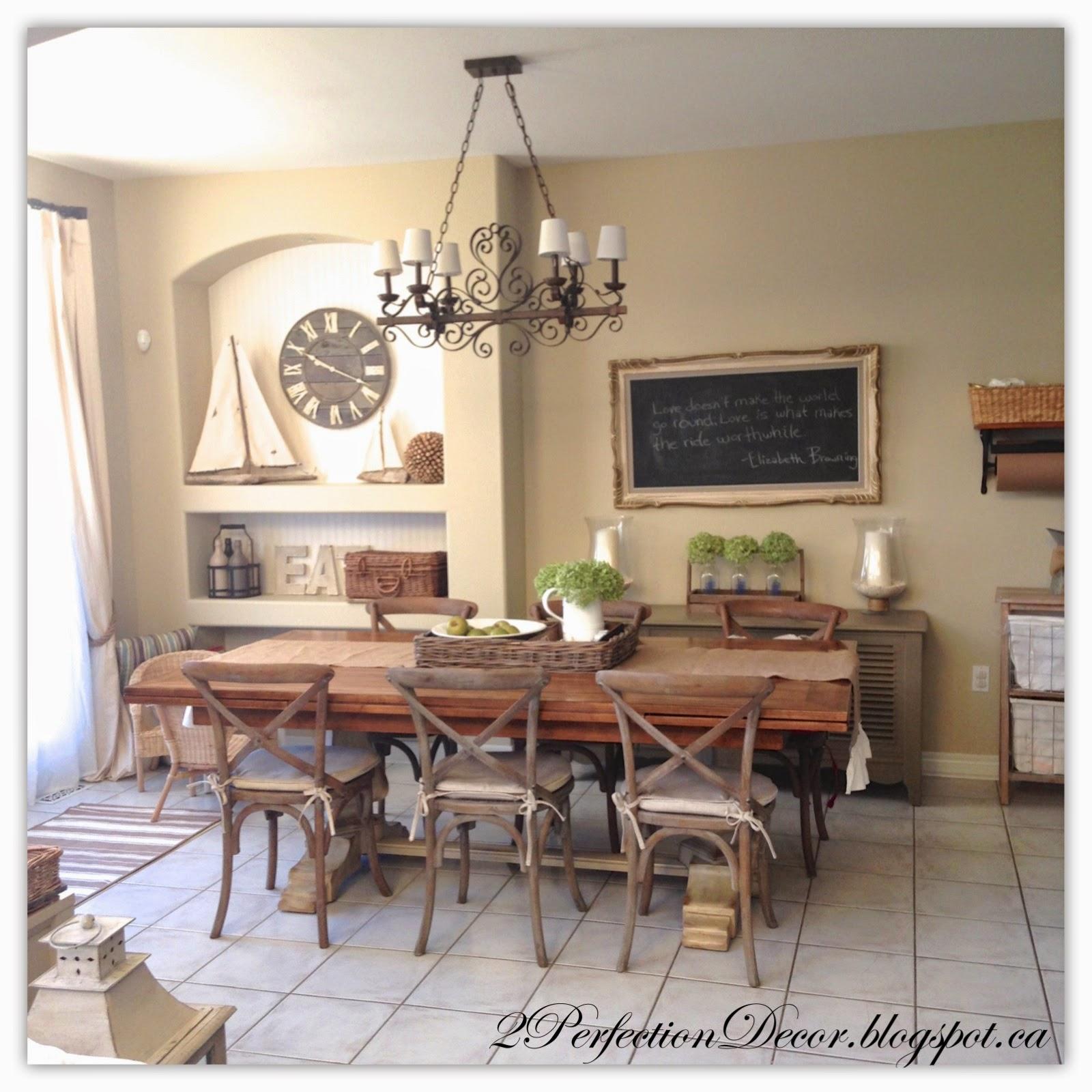 White Eat In Kitchen: 2Perfection Decor: Kitchen Eating Area Reveal