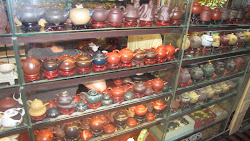 A few teapots.