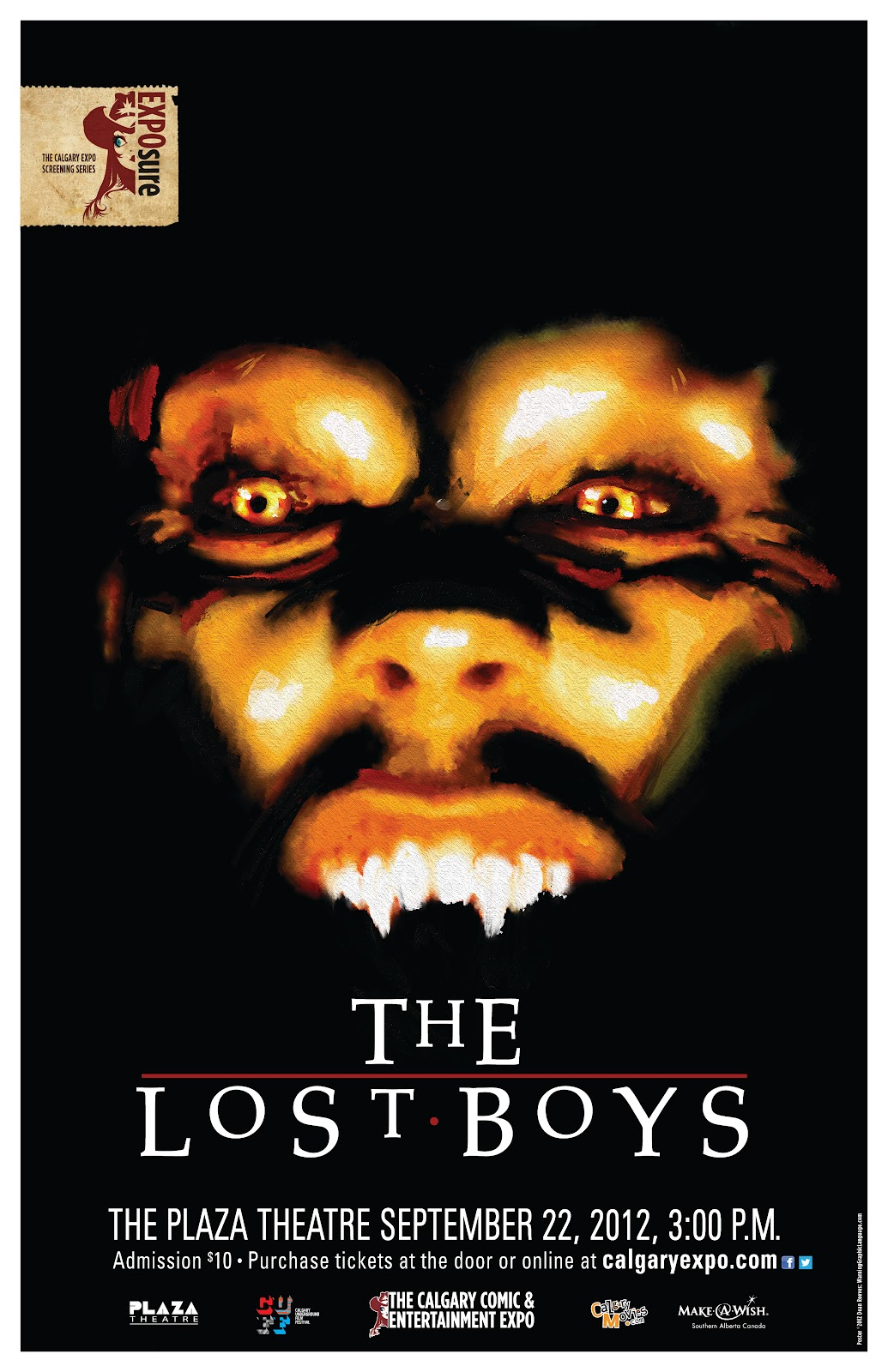 super punch the lost boys poster