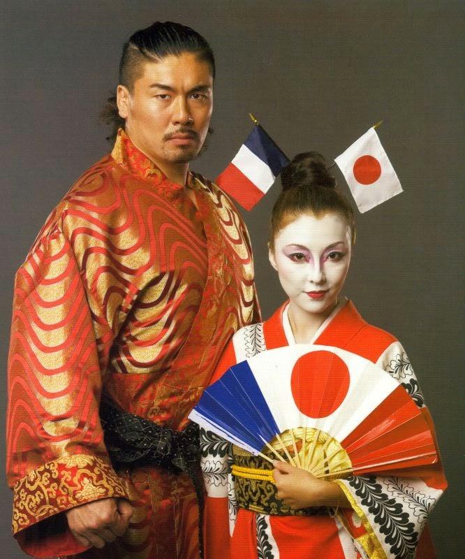 Kenzo Suzuki with Hiroko