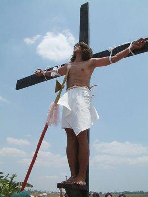 Philippine Holy Week Crucifixion