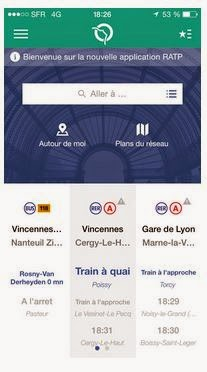 Application RATP