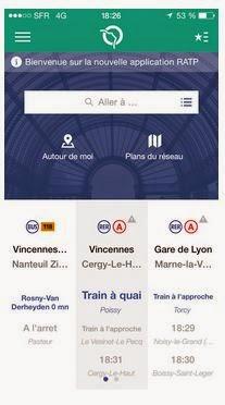 Application RATP
