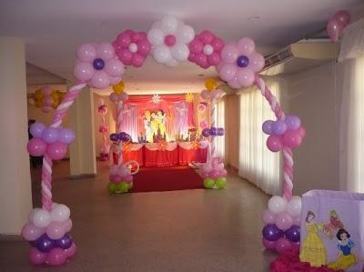 DECORACIONES CON LAS PRINCESAS decoracionesparafiestasinfantiles.blogspot.com