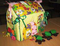 Мастер - класс по изготовлению мягкого кукольного домика - сумки