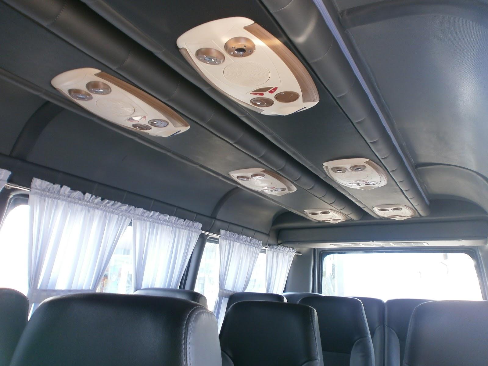 Isuzu Elf Mikrobus 16 Seat Deluxe Karoseri Sanggar Karya