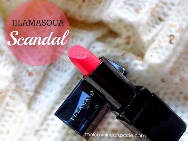 Illamasqua Lipstick in Scandal