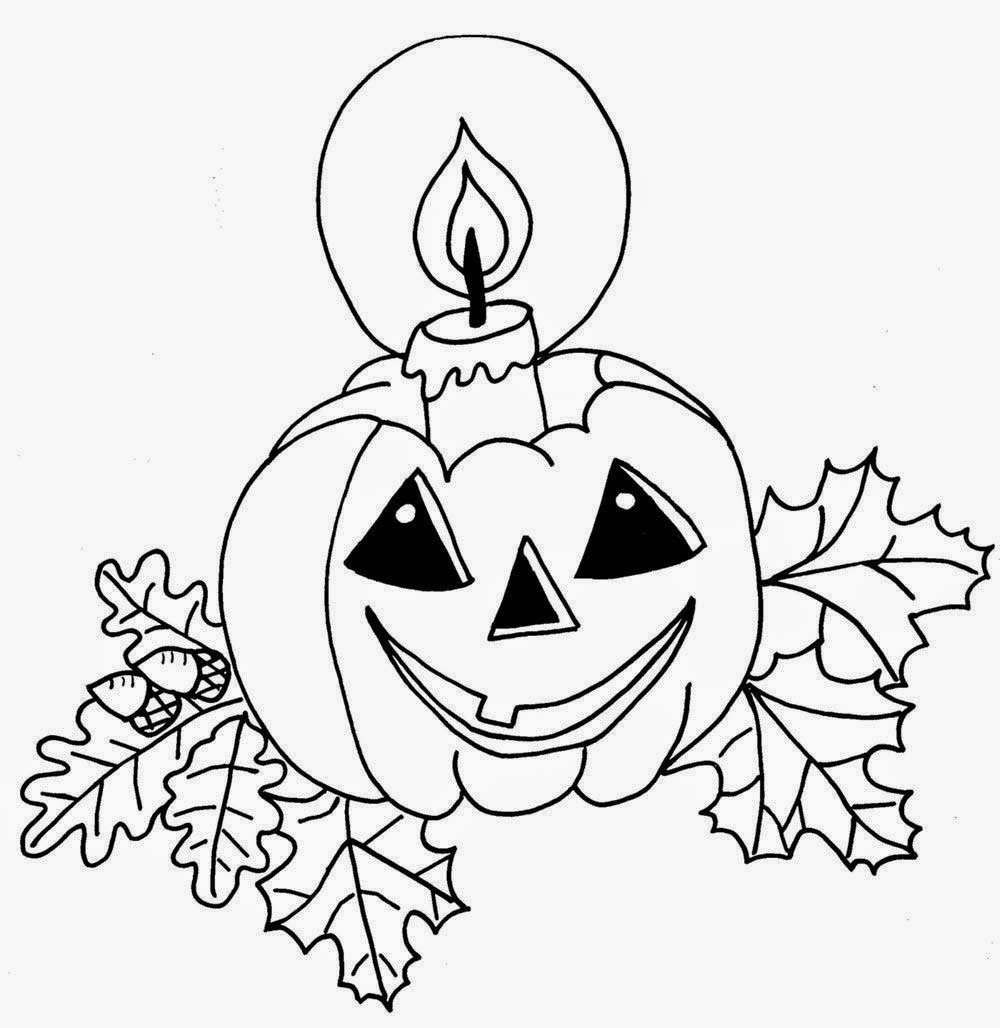 Halloween   Vamos a pintar