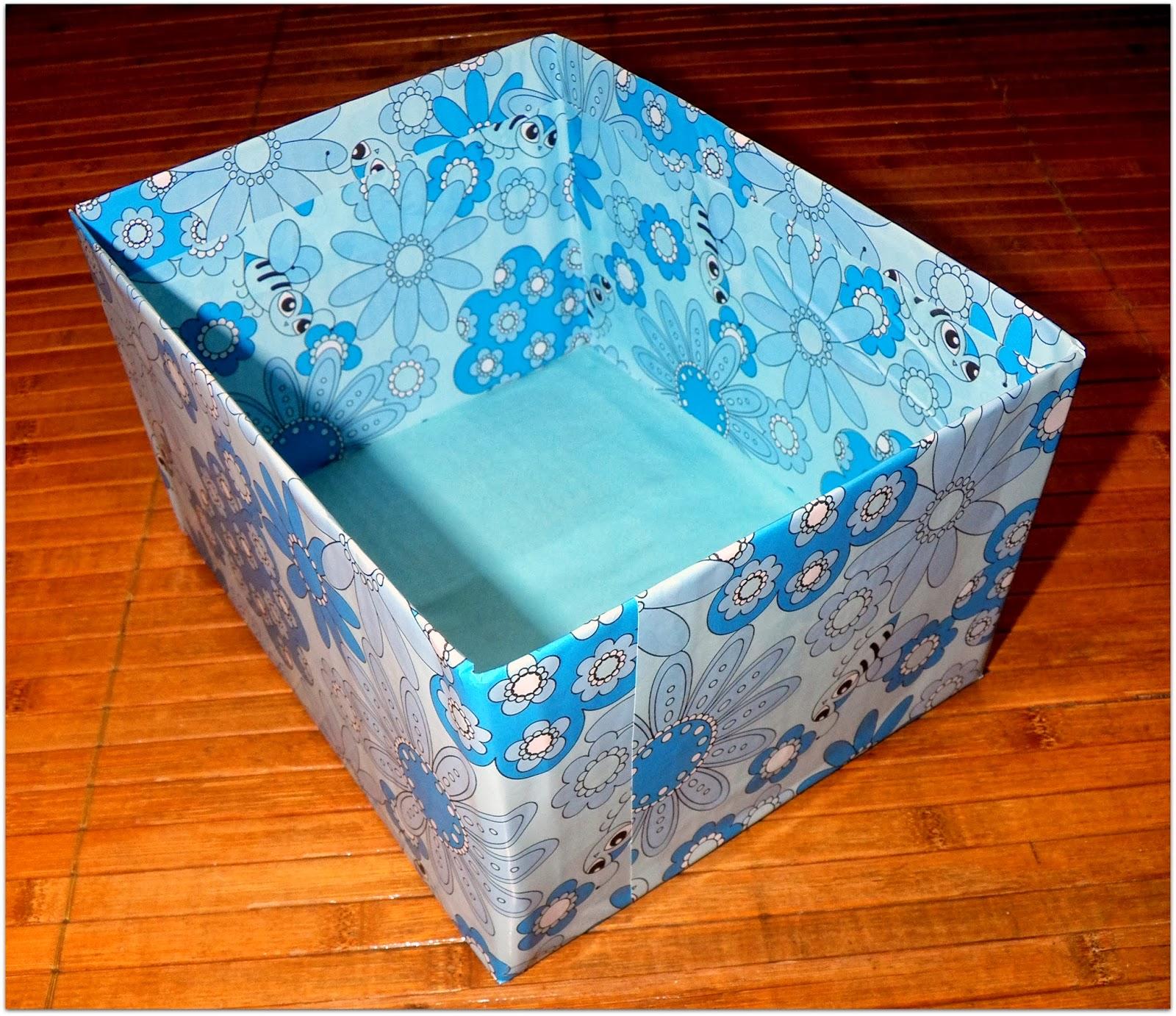 verlagssystem como forrar una caja diy