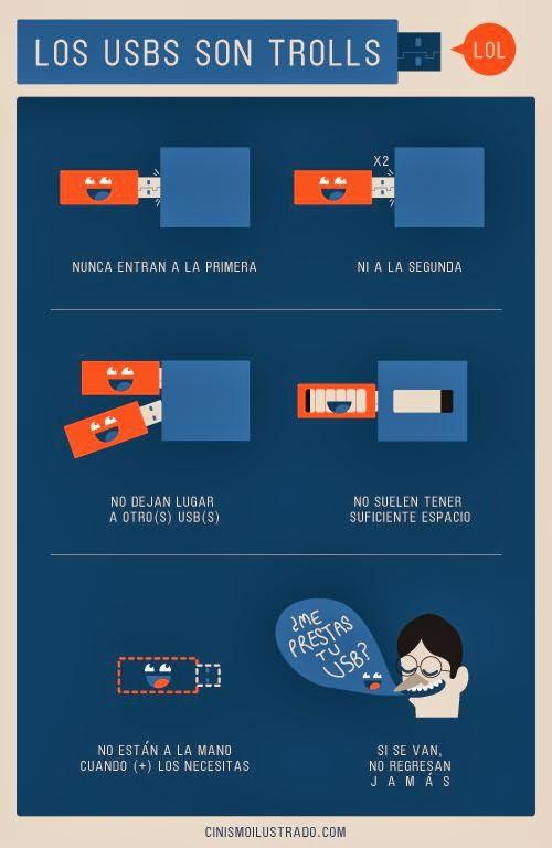 Los USBs son trolls