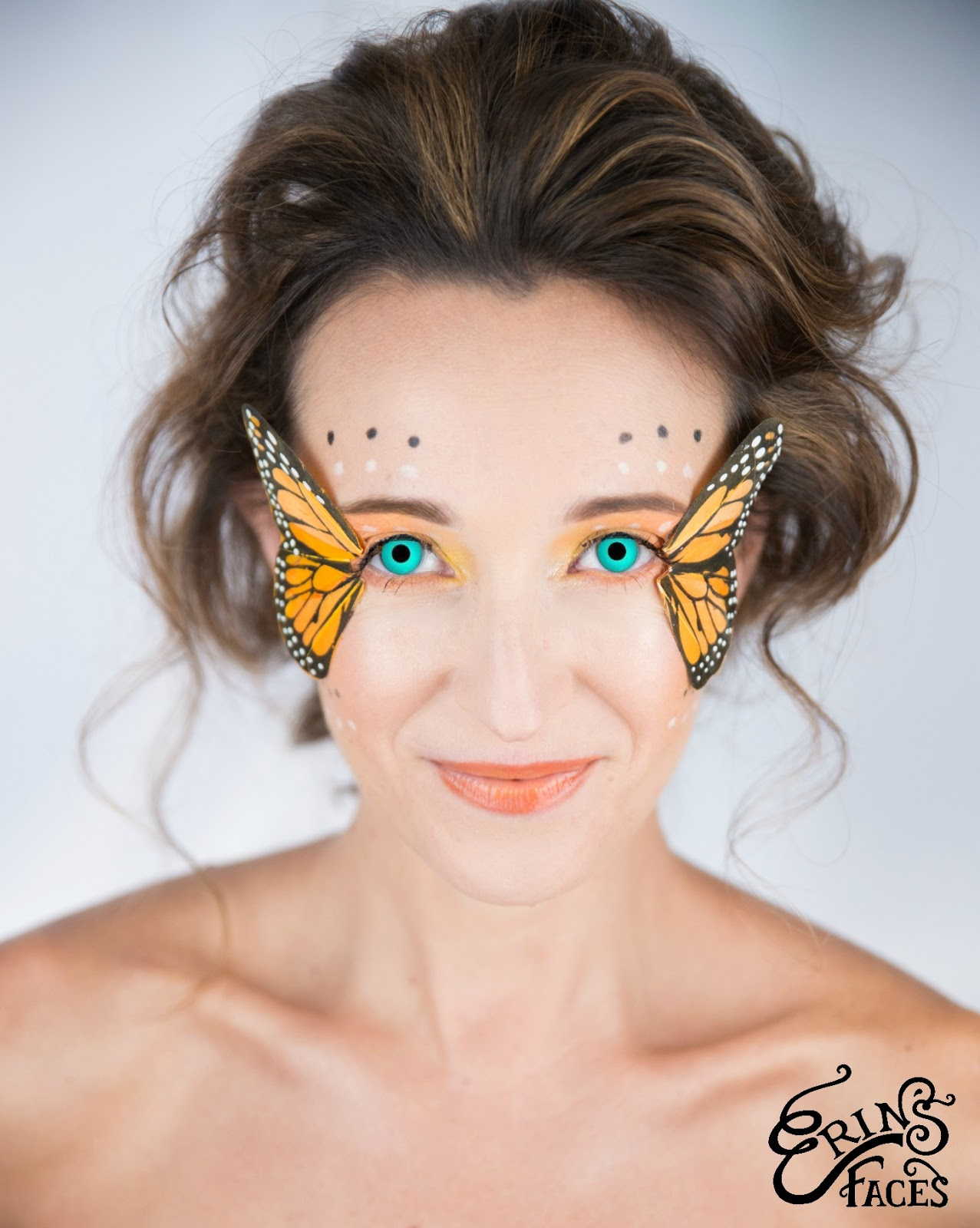erin's faces: Butterfly Fairy Halloween Makeup Tutorial