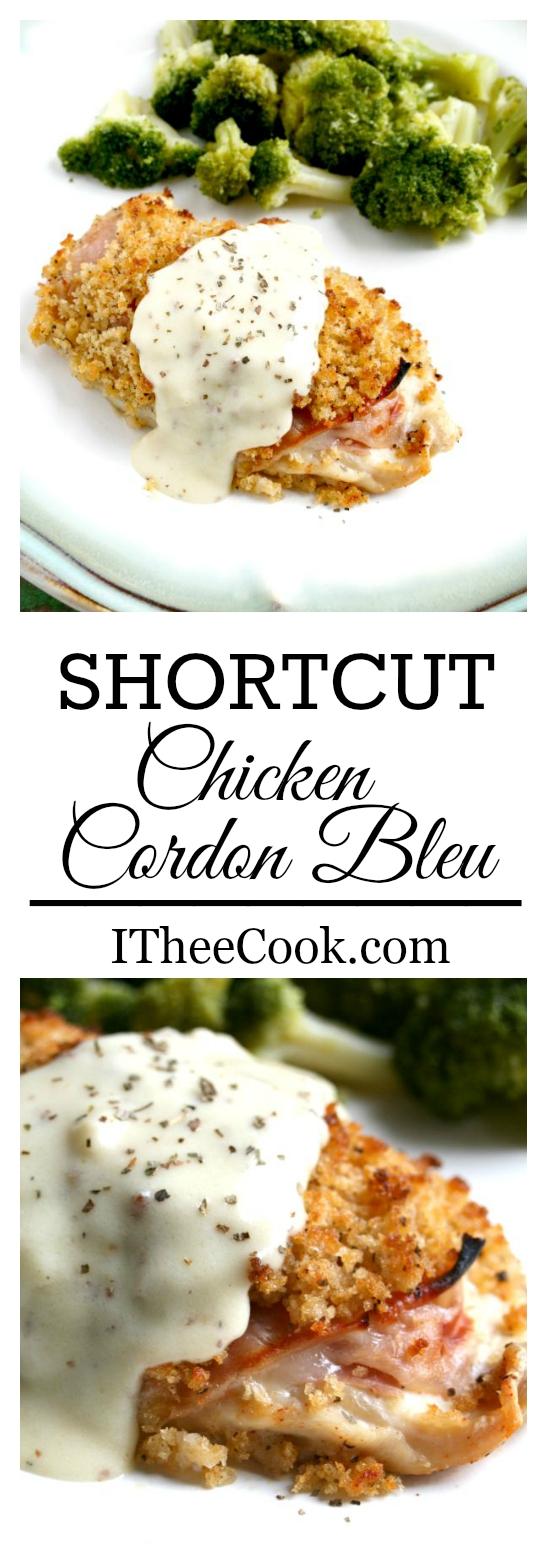 I Thee Cook: Shortcut Chicken Cordon Bleu