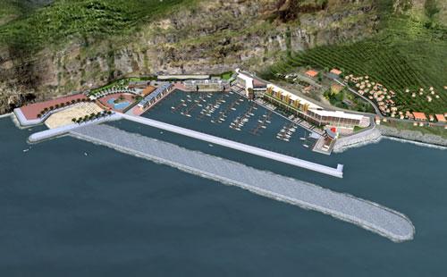 Obra da Marina do Lugar de Baixo de 100 milhões alvo de inquérito no parlamento madeirense