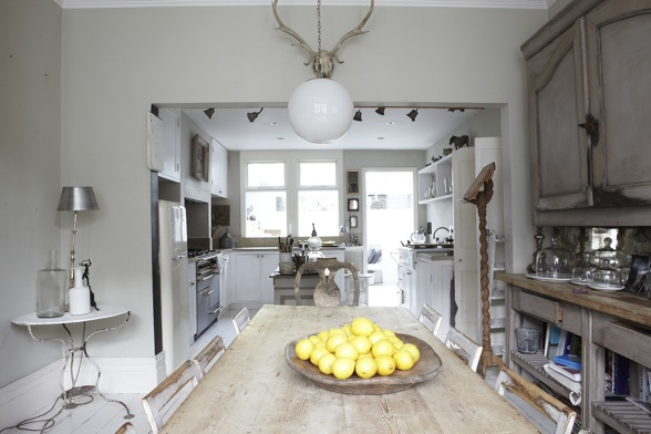 Then We Come Into The Large Kitchen Dining Room Which Sets Tone For Rest Of House Owners Have Used Reclaimed Items Wherever Possible