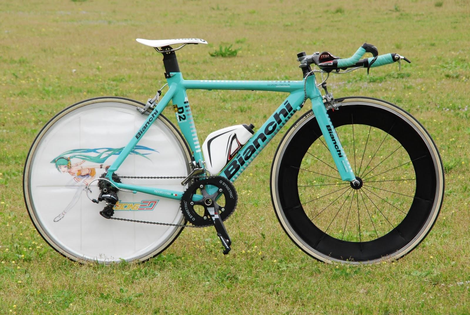 自転車の 自転車 tt : 今はフレームセットとハンドル ...