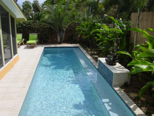 39 39 aprendendo a viver 39 39 decora o de casas piscinas estreitas for Ideas para piletas