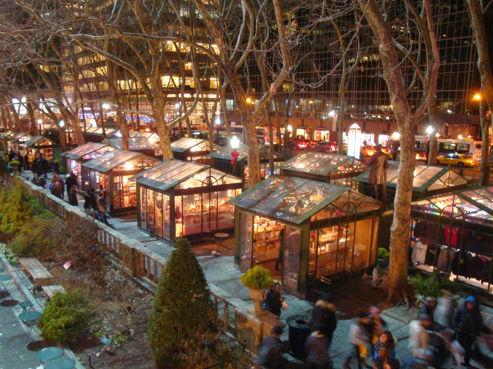 The Holiday Shops At Bryant Park New York 2014