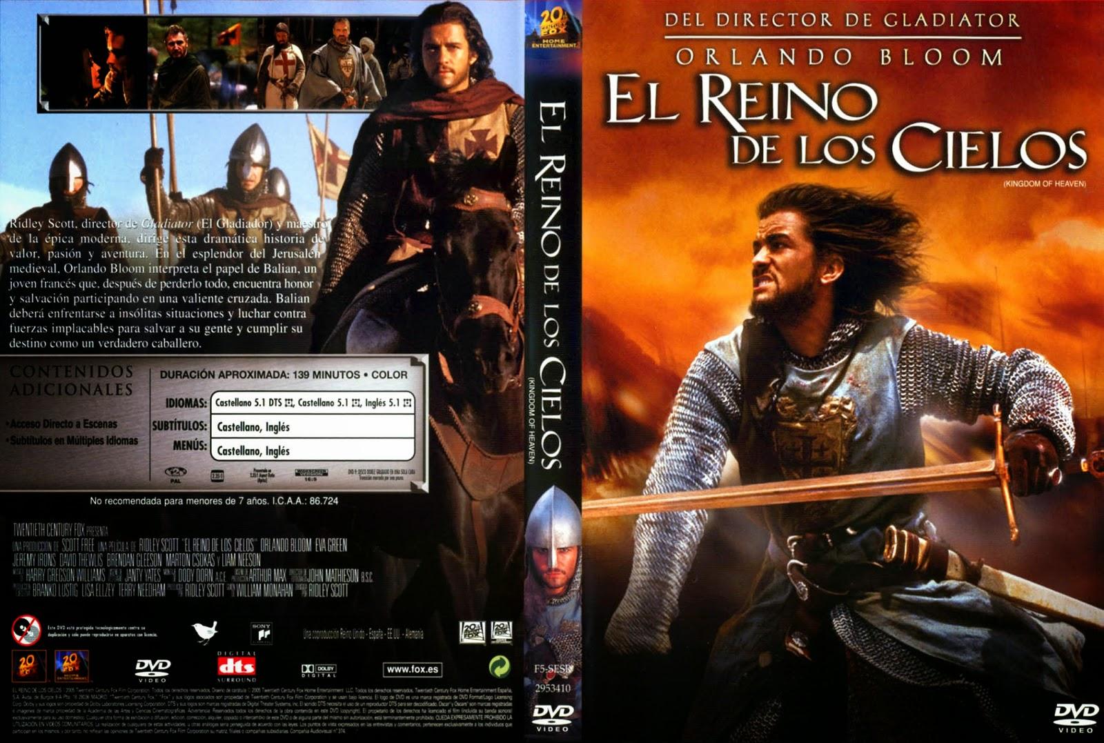 El Reino De Los Cielos DVD