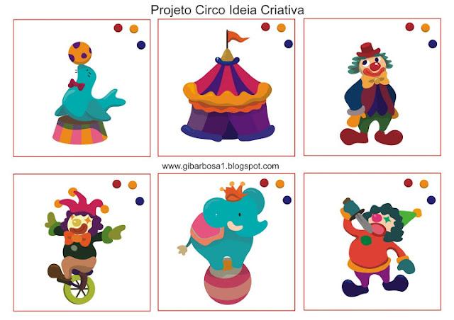 Jogo Qual é a Sombra Projeto Circo
