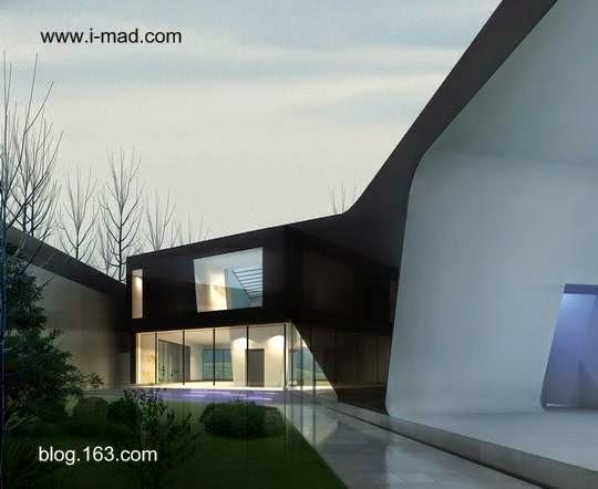 Imagen del renderizado del proyecto de la Rising House en Beijing