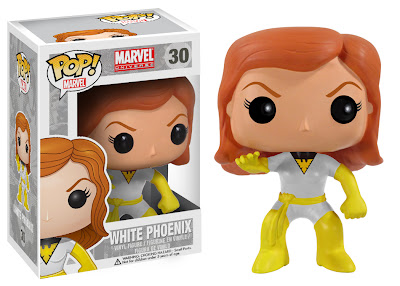 Conquest Comics Exclusive White Phoenix Pop! Marvel Vinyl Figure by Funko