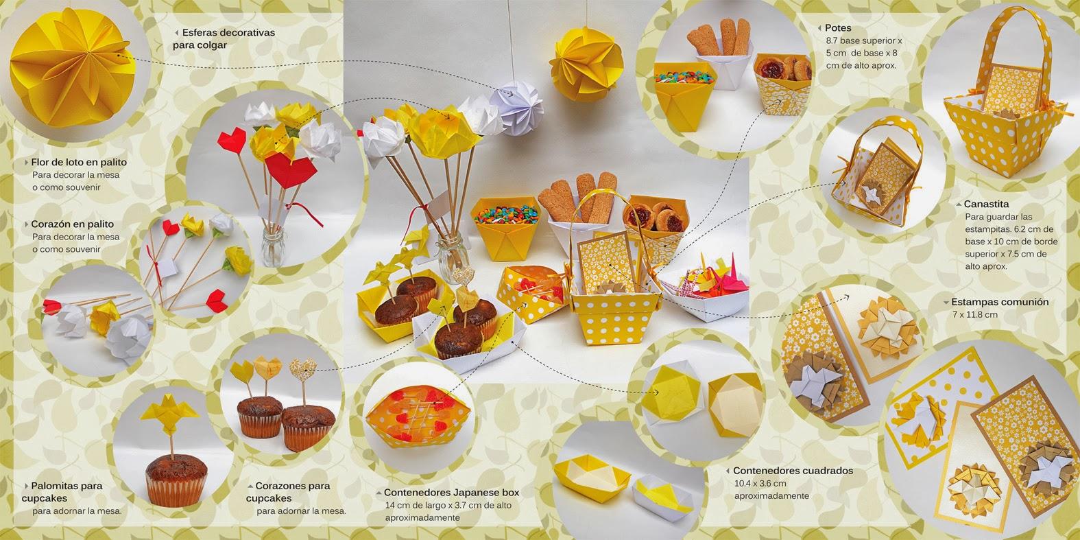 Mas origami propuesta de mesa para comuni n - Decoracion comunion original ...
