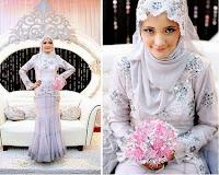 Model Kebaya Pengantin Muslim Terbaru