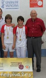 CAMPIONS AUTONÓMICS D, ESCALA I CORDA