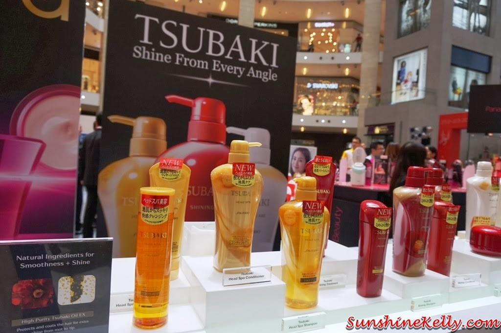 My Experience Japan Beauty Week KL, Japan Beauty Week, Japan, tsubaki, shampoo