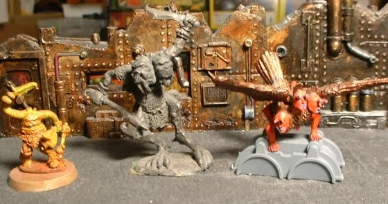 hungry ghosts chaos squats of khorne ancient creatures of