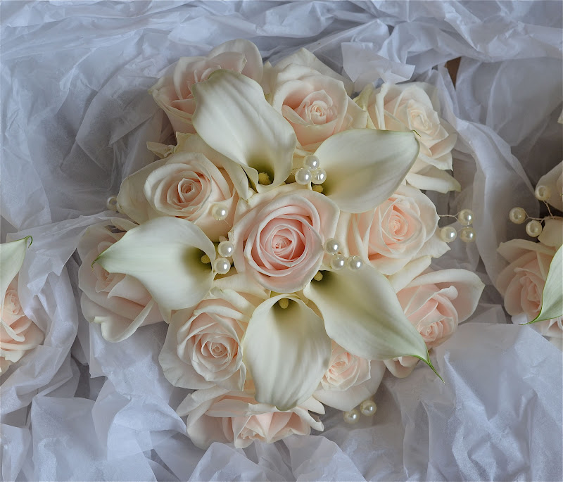 Wedding Flowers Roses And Lilies : Wedding flowers stacey s contemporary