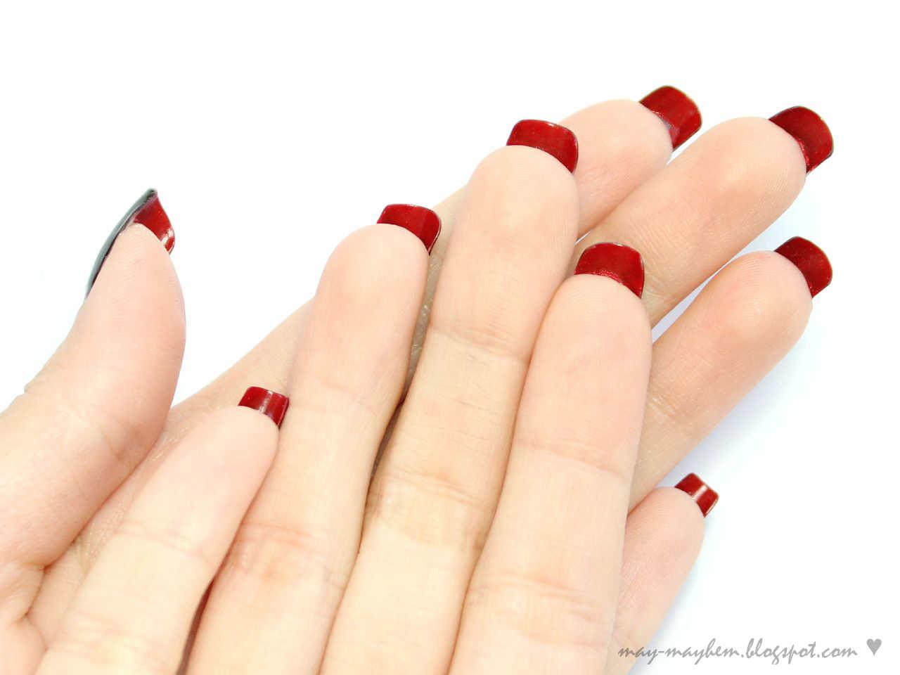 Mayhem: Christian Louboutin Inspired Nails
