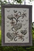 Seinävaate tilkkutyö / Tapestry quilting