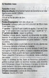 RECEITA DE VESTIDO EM CROCHÊ PARA CRIANÇAS PASSO A PASSO