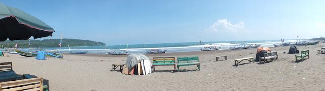 Panorama Pantai Pangandaran