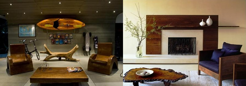 Sala De Tv Rustica Moderna ~  35 opções de decoração moderna # decoracao de sala rustica moderna