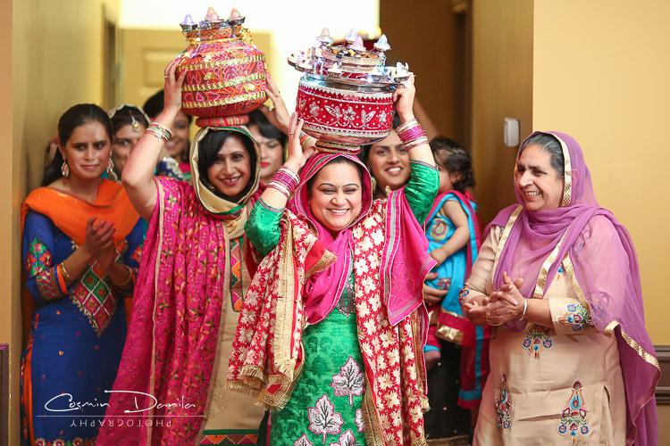East Indian Wedding Photography Punjabi Pictures Sikh Rituals Jaago Maiya Mehndi Rangoli Edmonton Alberta