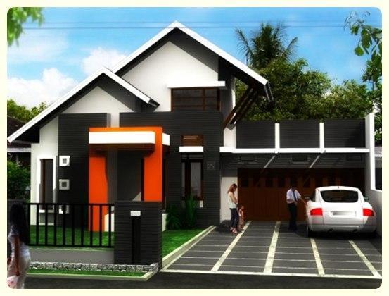 contoh beberapa bentuk rumah minimalis