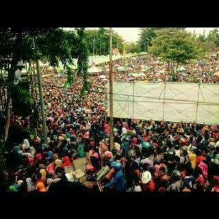 Taman Bunga Sumenep dipadati Fans Irwan DAcademy