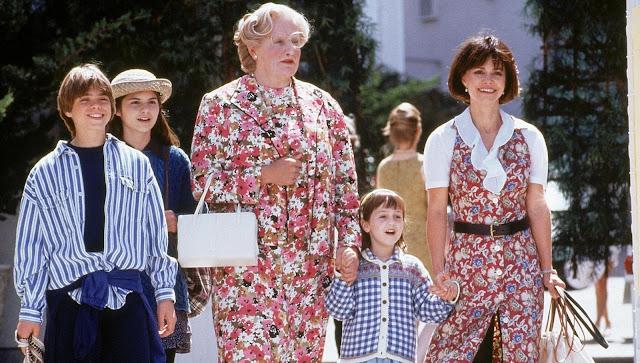 Mrs. Doubtfire,Robin Williams,comedy movie