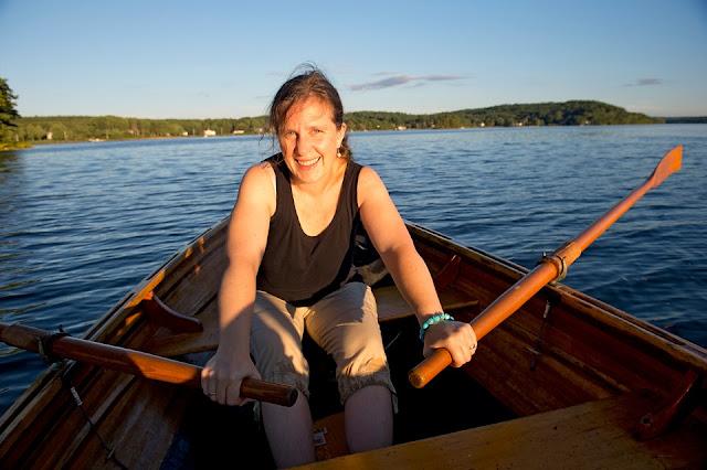 Nova Scotia, LaHave River, Row Boat