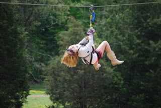 Longest zipline in the Smokies