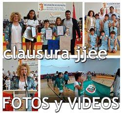 Clausura Juegos Escolares: Fotos y Videos