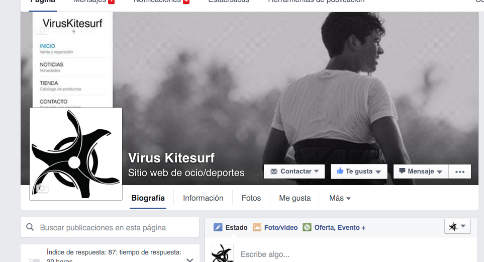 FACEBOOK VIRUSKITESURF